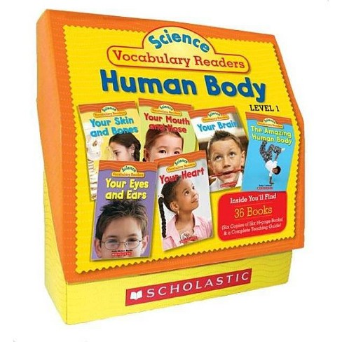 Science Vocabulary Readers Set: Human Body - by  Liza Charlesworth (Paperback) - image 1 of 1