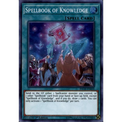 Spellbook of Knowledge INCH-EN059 Super Rare Mint Condition 1st Edition