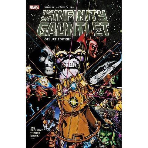 Infinity Gauntlet: Deluxe Edition - (Paperback) - image 1 of 1
