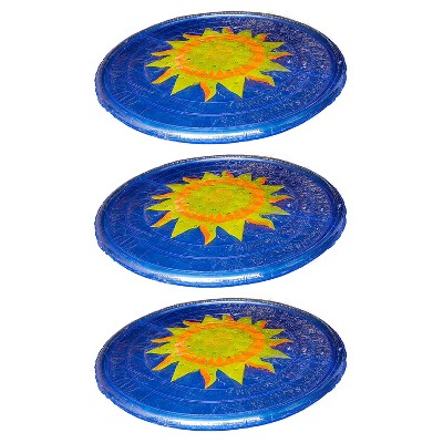 Solar Sun Rings UV Resistant Above Ground Inground Swimming Pool Hot Tub Spa Heating Accessory Circular Heater Solar Cover (3 Pack)