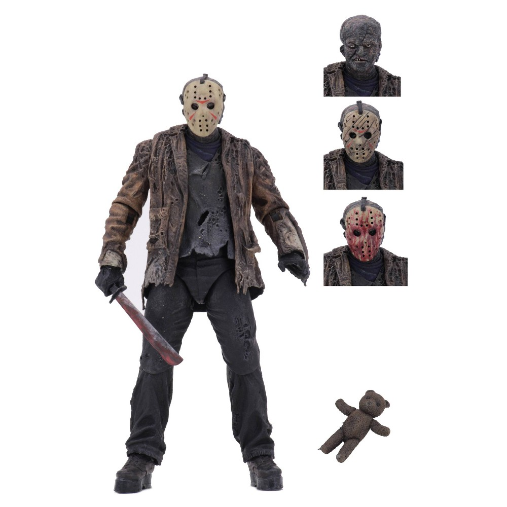 "Image of ""Freddy vs. Jason Ultimate Jason Vorhees 7"""" Action Figure"""