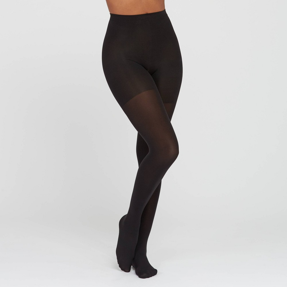 ASSETS by SPANX Womens Original Shaping Tights - Black 3 Discounts