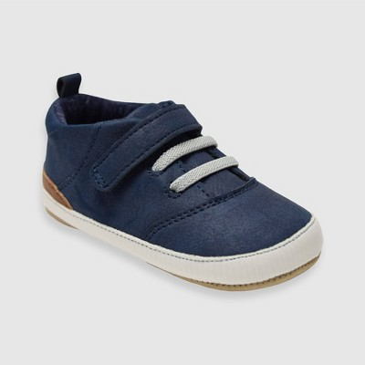 Baby Boys' Ro+Me by Robeez Michael Sneakers - Navy 6-12M
