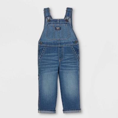 OshKosh B'gosh Toddler Boys' Denim Overalls - Blue