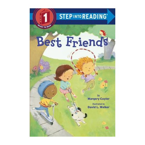 Best Friends - (Step Into Reading) by  Margery Cuyler (Paperback) - image 1 of 1
