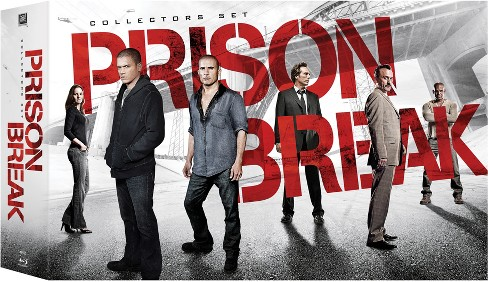 Prison Break Boxset (1-4+ES) (Blu-ray) - image 1 of 1