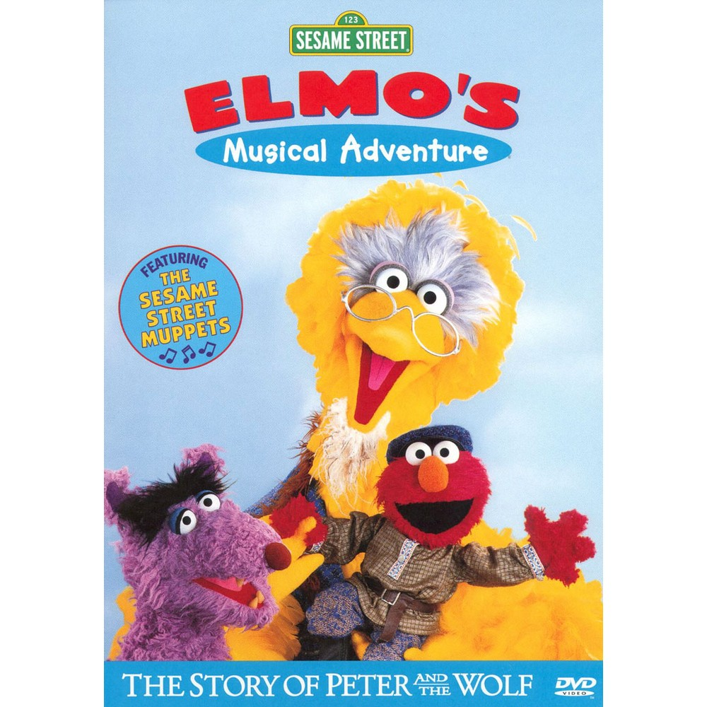 Elmo's Musical Adventures: Story of Peter and the Wolf (dvd_video)