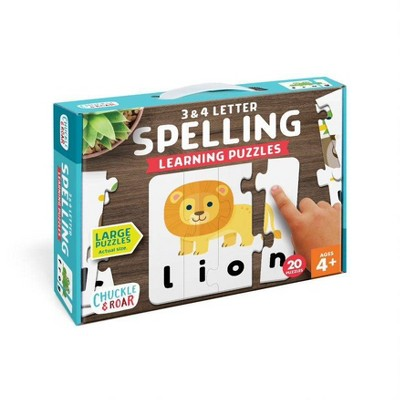 Chuckle & Roar Learning Puzzle Spelling – 70pc