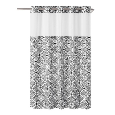 Vervain Medallion Shower Curtain with Liner - Hookless - image 1 of 4