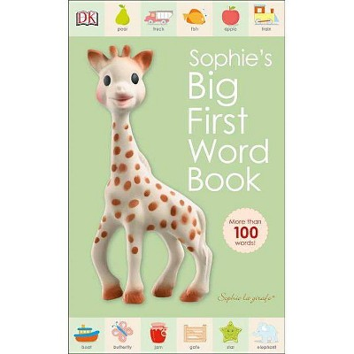Sophie La Girafe: Sophie's Big First Word Book - (Board_book)