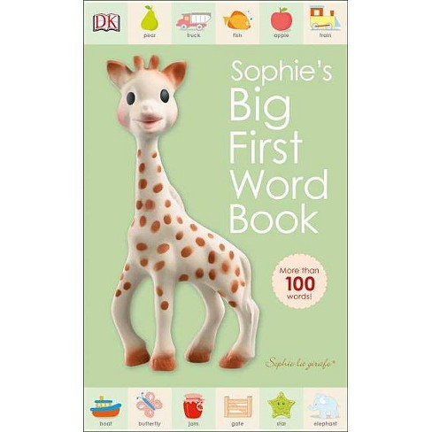 Sophie La Girafe: Sophie's Big First Word Book - (Board_book) - image 1 of 1
