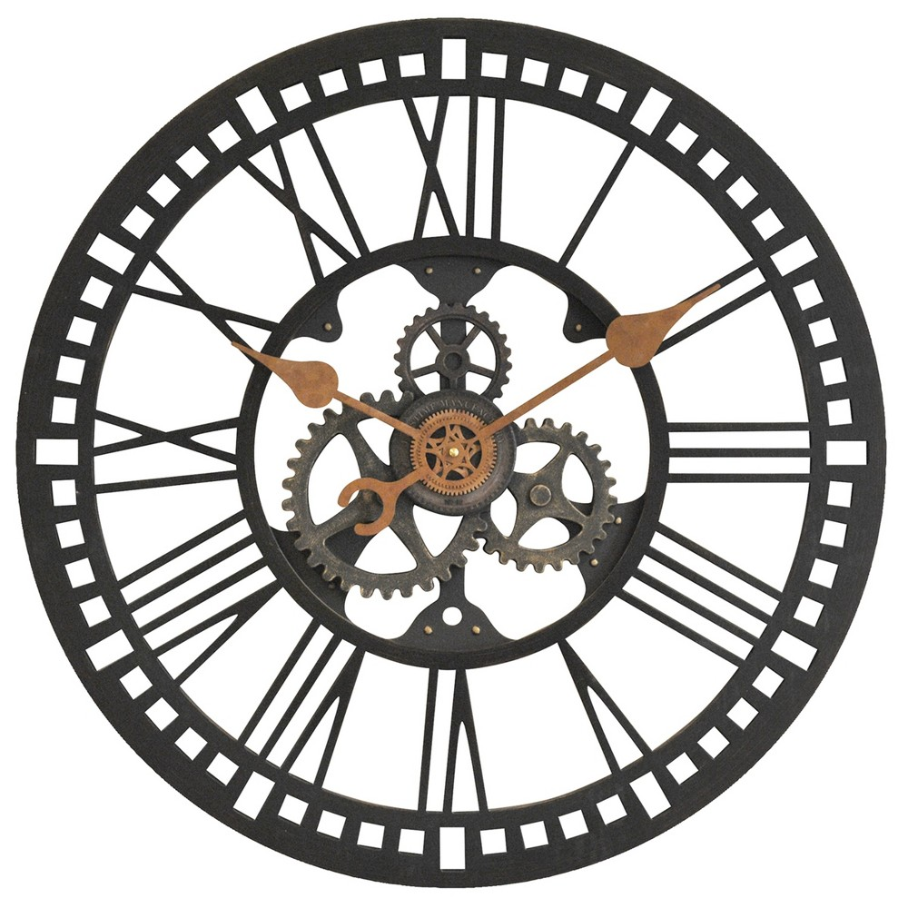 Image of FirsTime Roman Gear Wall Clock Bronze, Bronze Cloud