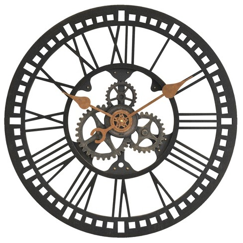 FirsTime Roman Gear Wall Clock Bronze - image 1 of 2