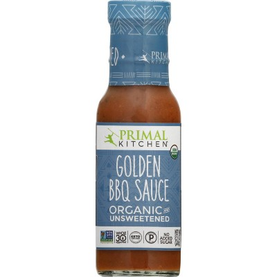 Primal Kitchen Organic and Unsweetened Golden BBQ Sauce - 8.5oz