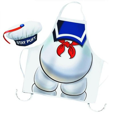 Cryptozoic Entertainment Ghostbusters Stay Puft Apron and Chef Hat