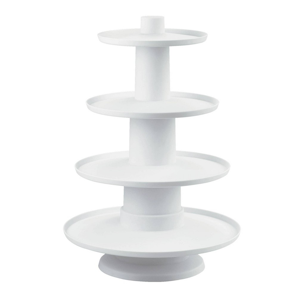 Image of Wilton 4-Tier Cupcake and Dessert Tower