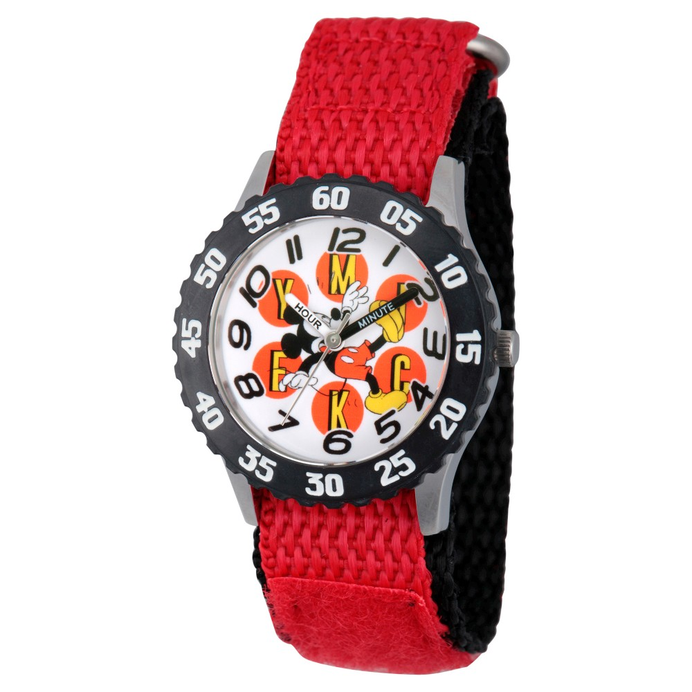 Boys' Disney Watches Red, wristwatches