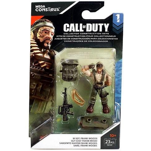 Call Of Duty Mega Construx Specialists Series 1 M Sgt Frank Woods Mini Figure Target