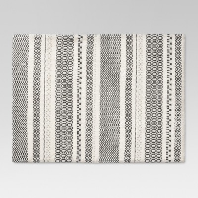 19 x14  Kitchen Textiles Placemat Silver - Threshold™