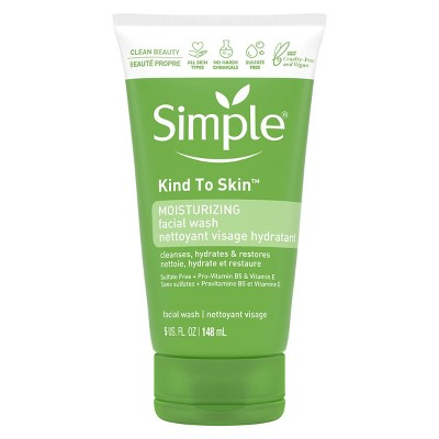 Simple Kind to Skin Moisturizing Facial Wash - 5 fl oz