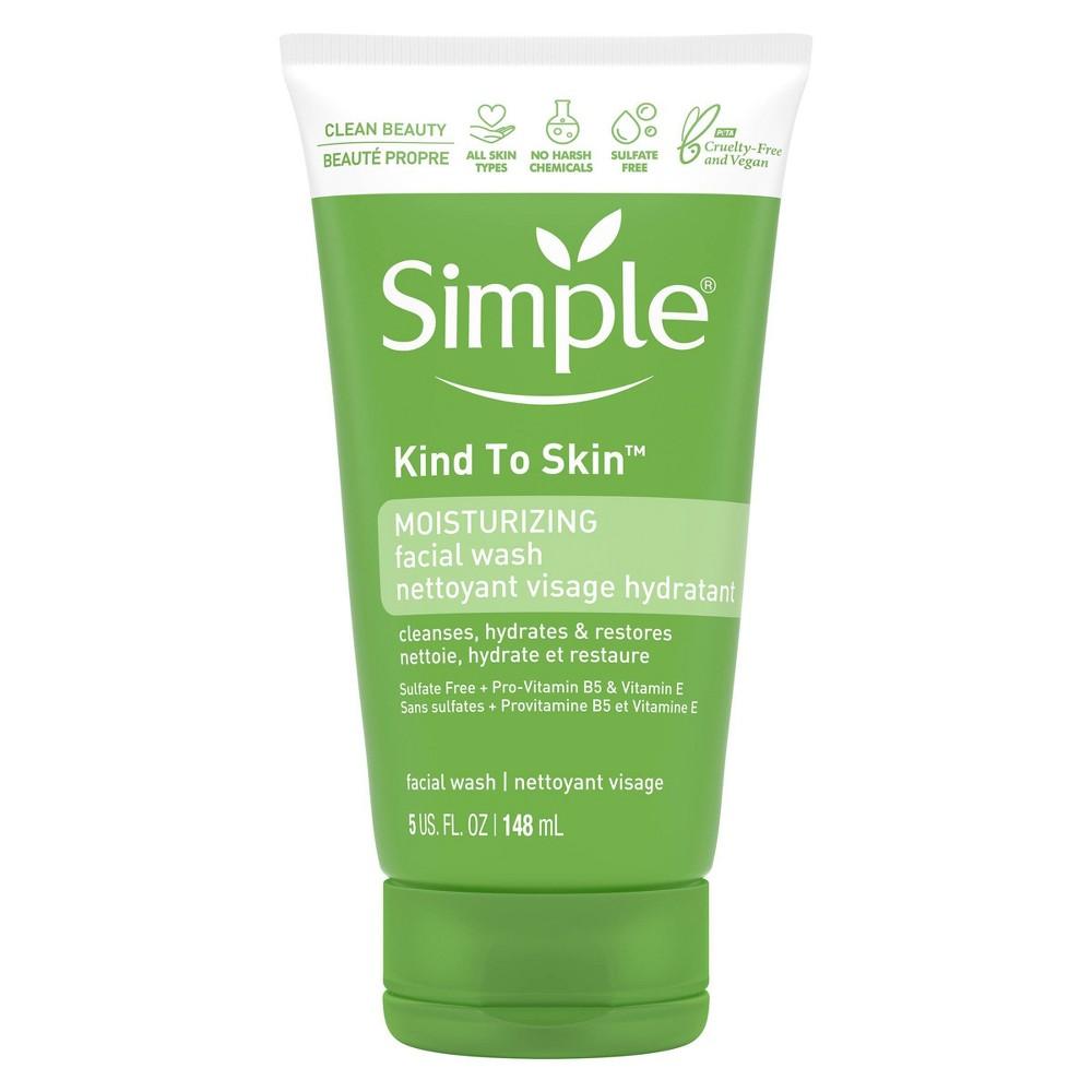 Simple Kind To Skin Moisturizing Facial Wash 5 Fl Oz
