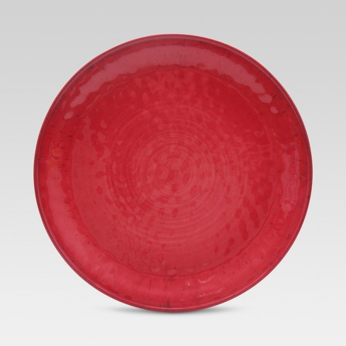 "Mineral Melamine Dinner Plate 10.5 "" Mineral Red - Threshold™ - image 1 of 1"