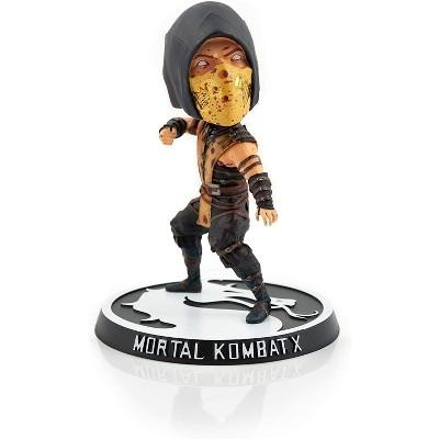 Mezco Toyz Mortal Kombat X Bloody Exclusive Scorpion 6 Inch Bobble Head Figure
