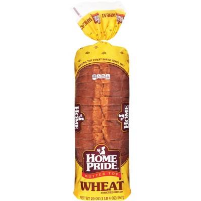 Home Pride Wheat Sliced Bread - 20oz