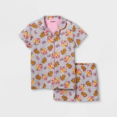 Girls' JoJo Siwa 2pc Pajama Set - Gray