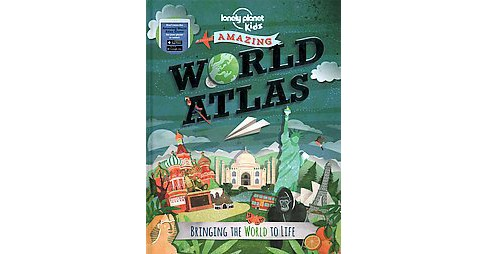 Amazing World Atlas ( Lonely Planet Kids) (Hardcover) - image 1 of 1