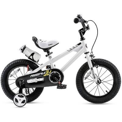 "Royalbaby Freestyle 14"" Kids' Bike - White"