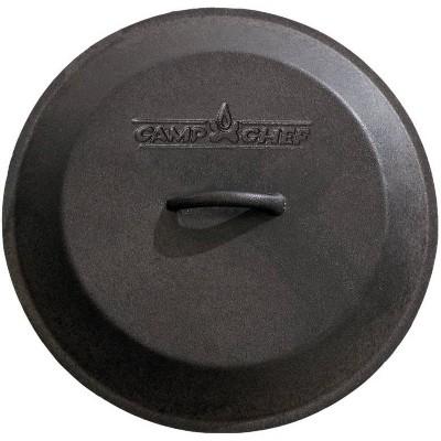 Camp Chef 10  Cast Iron Skillet Lid - Black