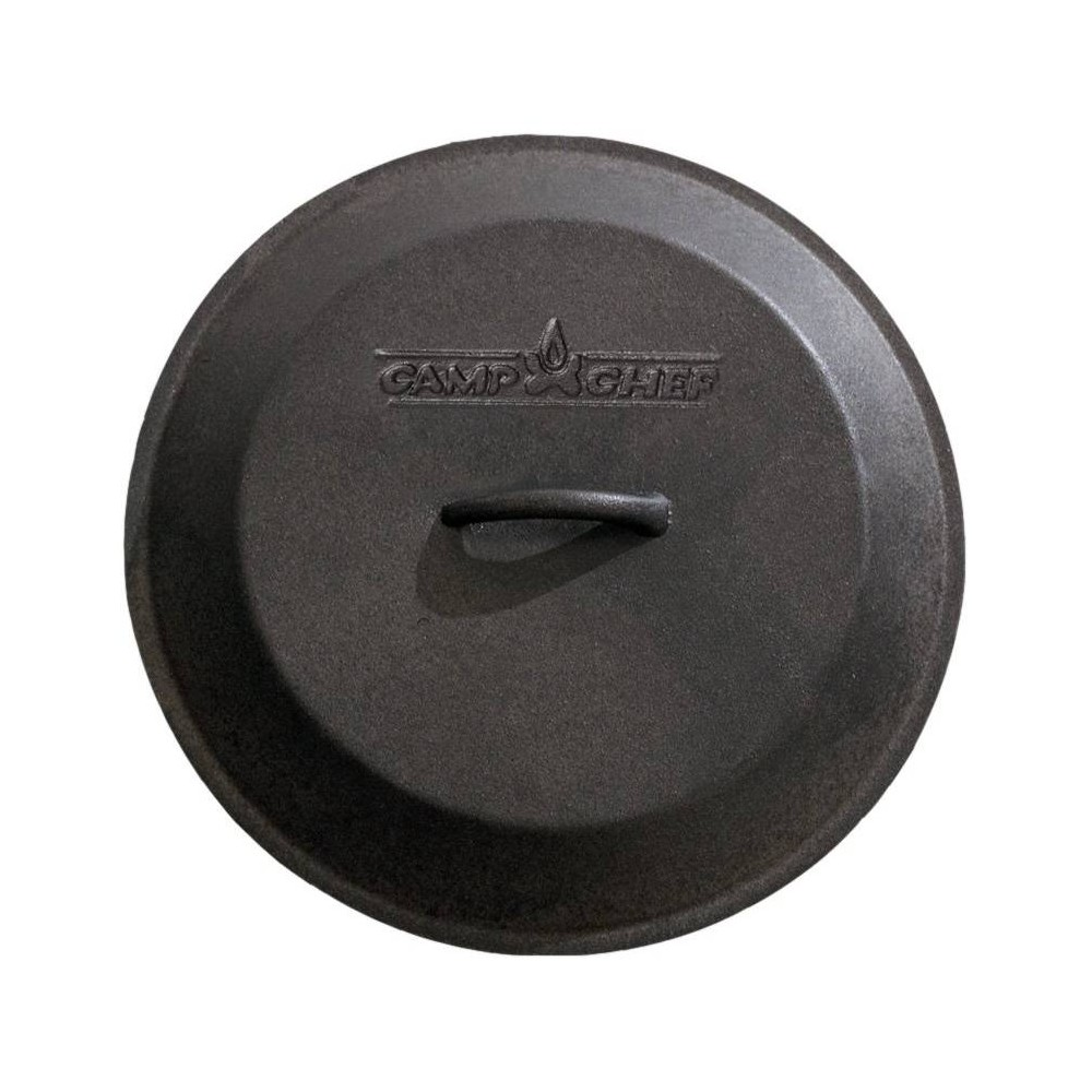 "Image of ""Camp Chef 14"""" Cast Iron Skillet Lid - Black"""