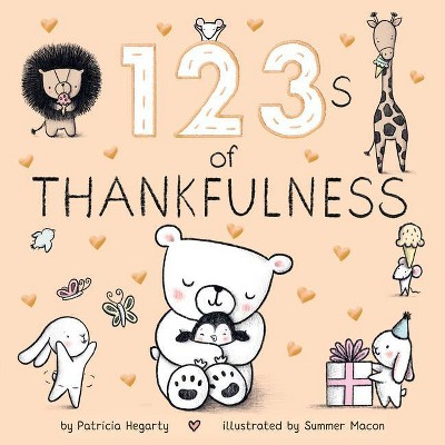 123s of Thankfulness - by Patricia Hegarty (Board Book)