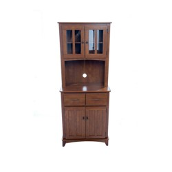 Traditional Microwave Cabinet - Oak - Home Source Industries