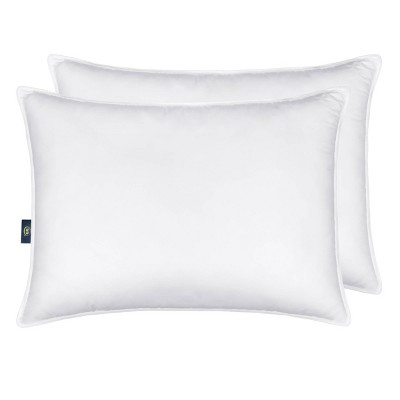 2pk Down Illusion Firm Bed Pillow - Serta