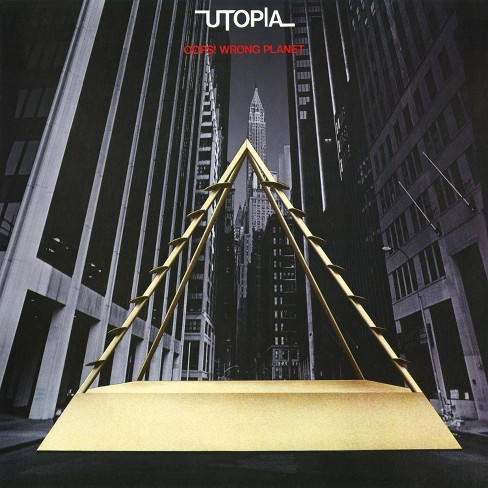 Utopia - Oops! Wrong Planet  Silver  180 G (Vinyl) - image 1 of 1