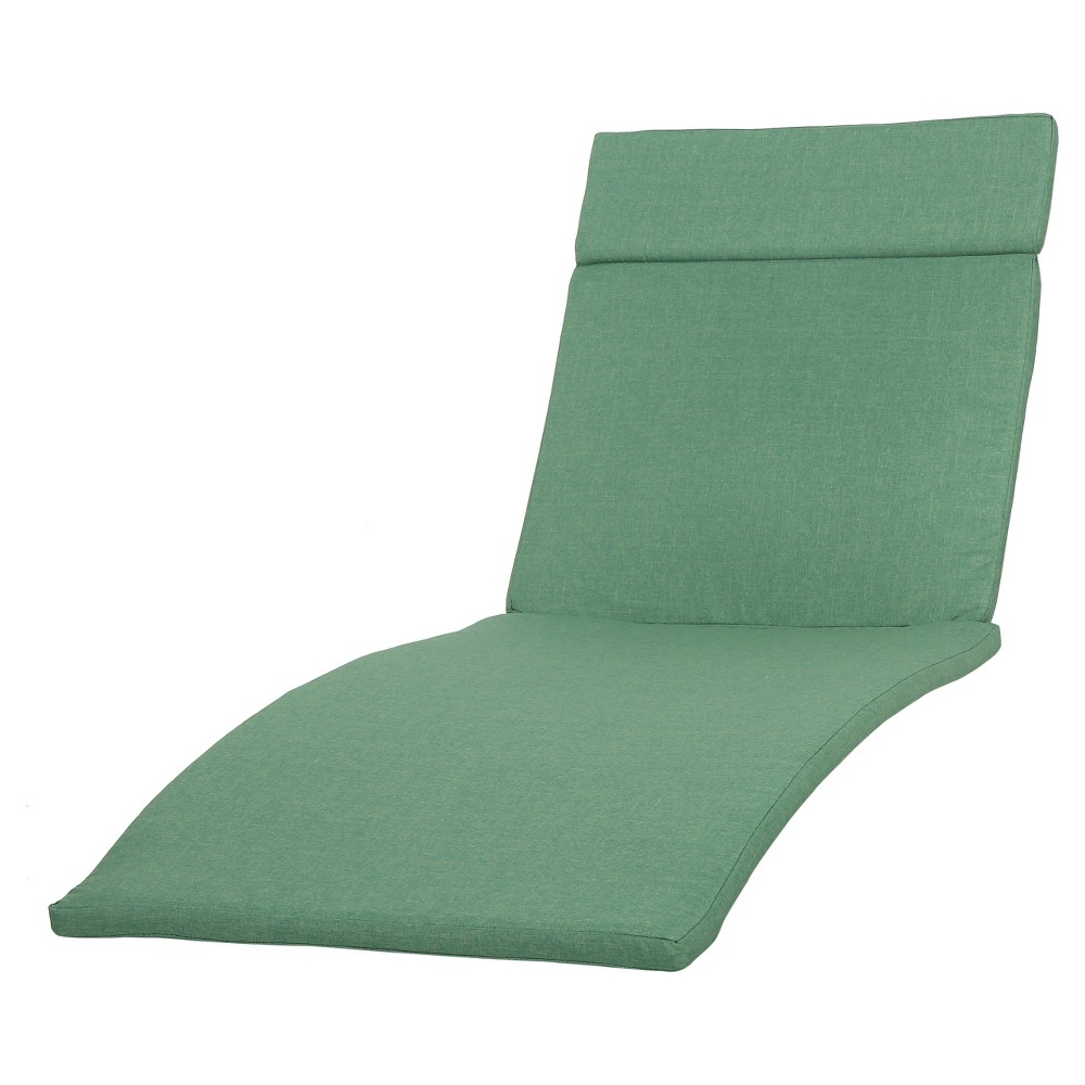 Salem Set Of 2 Chaise Lounge Cushions Jungle Green Christopher Knight Home