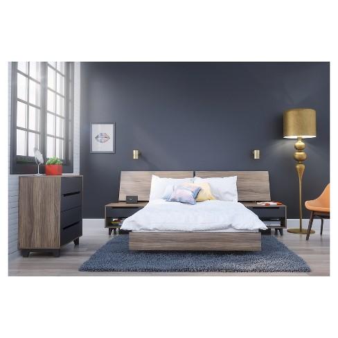 5 Piece Alibi Full Size Bedroom Set - Nexera