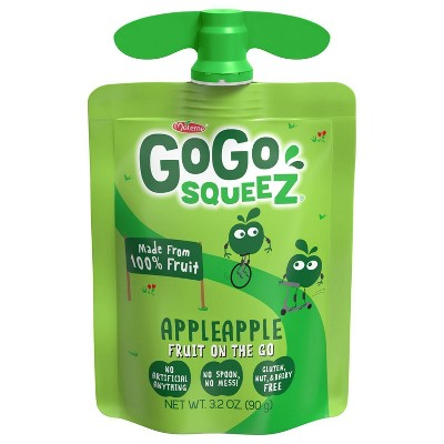 Gogo Squeez Applesauce On The Go Pouch - 3.2oz