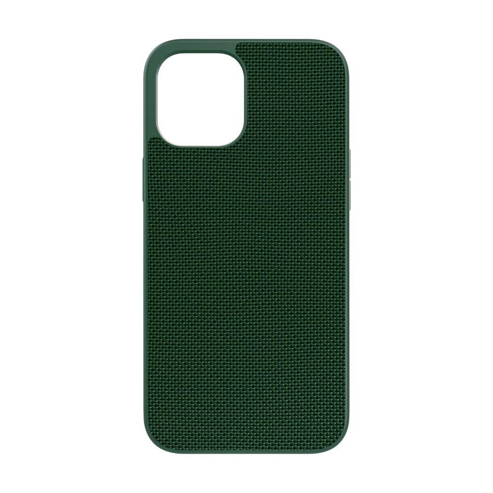 Evutec Apple Iphone 12 Pro Max Case Ballistic Nylon Afix Vent Mount Green