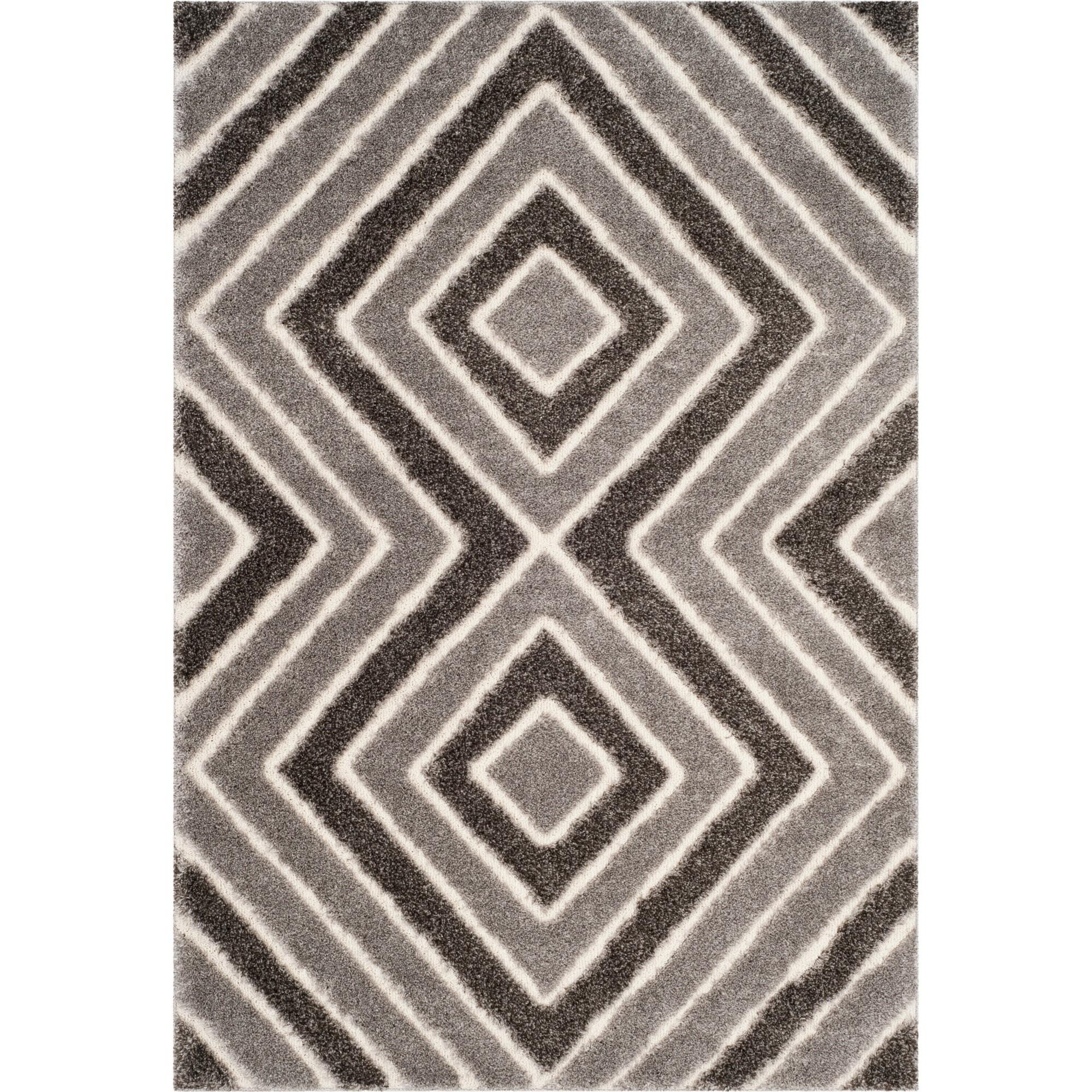 8'X10' Geometric Loomed Area Rug Taupe/Gray (Brown/Gray) - Safavieh