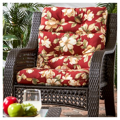 Outdoor High Back Chair Cushion  Greendale Home Fashions : Target