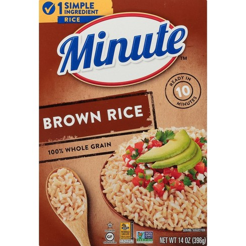 Minute Instant Whole Grain Brown Rice - 14oz - image 1 of 4
