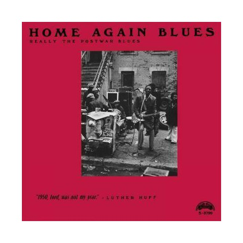 Various - Home Again Blues (CD) - image 1 of 1
