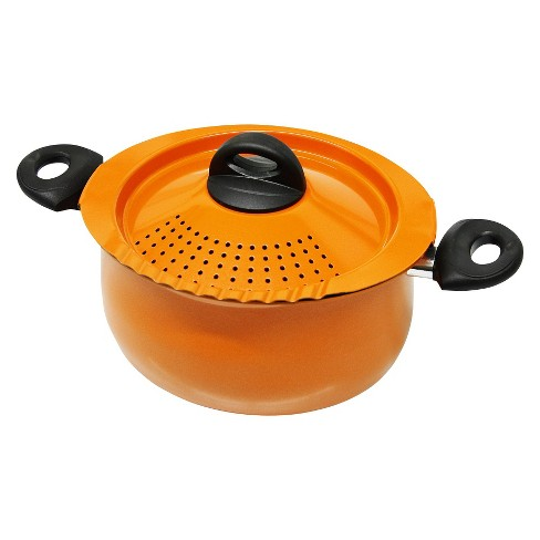 Biale 5 Quart Pasta Pot - Orange - image 1 of 1