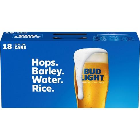 Bud Light Beer - 18pk/12 fl oz Cans - image 1 of 1