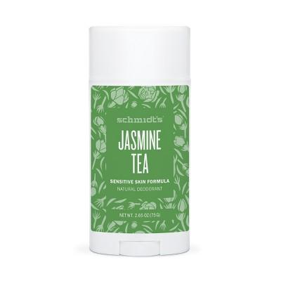 Schmidt's Jasmine Tea Sensitive Skin Deodorant   2.65oz by 2.65oz