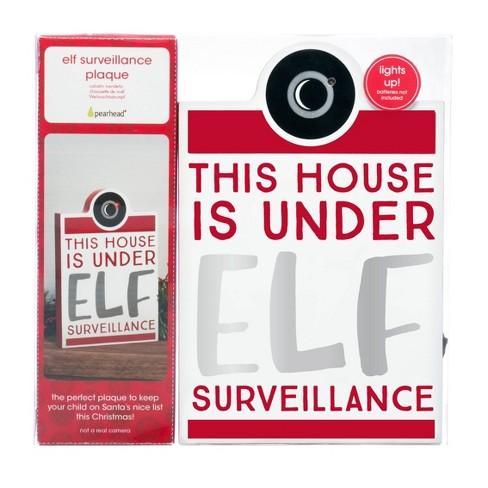Pearhead Elf Surveillance Plaque - image 1 of 3