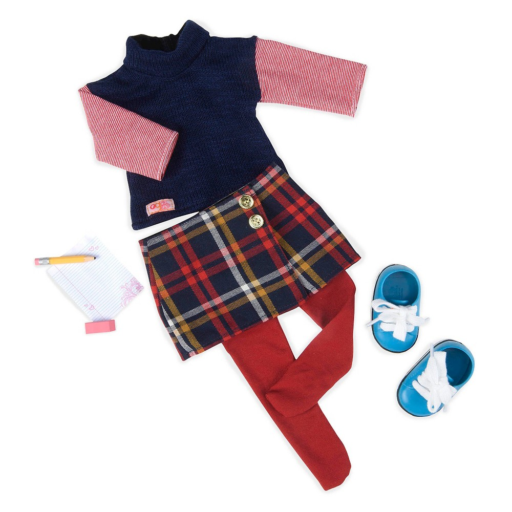 Our Generation School Outfit for 18 Dolls - Study Class
